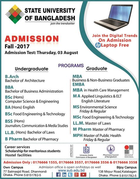 Dhaka Mba Admission 2017 by Admission Fall 2017 Welcome To State Of