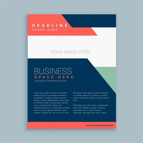 brochure templates for business free download abstract business brochure template vector free download