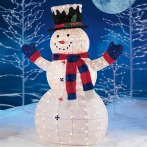 schneemann dekoration 14 led outdoor decorations celebrations