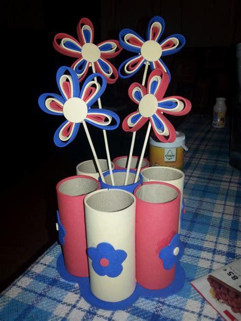 diy como hacer servilleteros para navidad con tubos de carton flor de pascua hecha con tubos de papel higi 233 nico