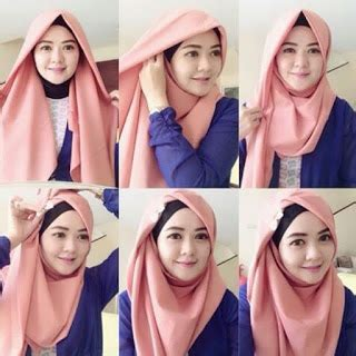 tutorial hijab simple jaman sekarang busana muslim trendy aneka tutorial jilbab jaman sekarang