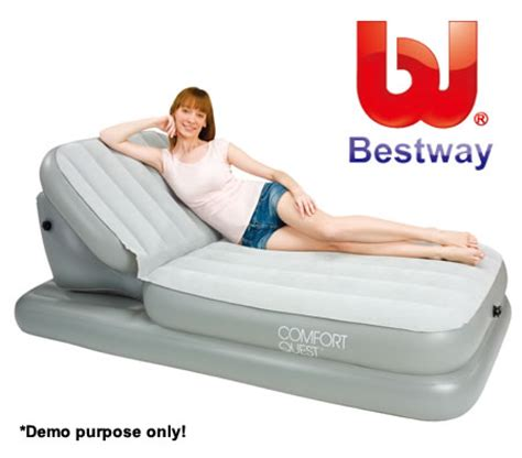 air bed w backrest crazysales au sales