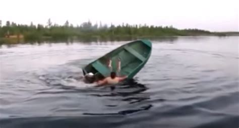 luckily we have these fishing boat fails to make your day - Small Boat Fails