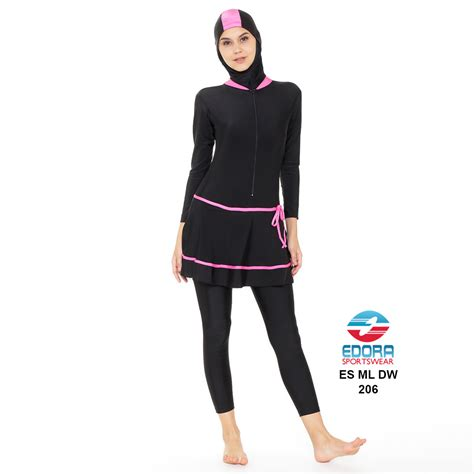 Baju Renang Muslimah Dewasa Esml Dw 003 baju renang muslimah dewasa es ml dw 206 distributor dan