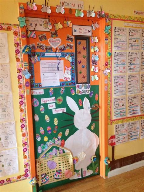 Easter Classroom Decorations by 1000 Images About Classroom Door Decorations On