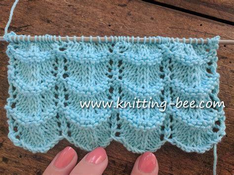 pattern library knitting free lace ripple stitch knitting pattern knitting bee
