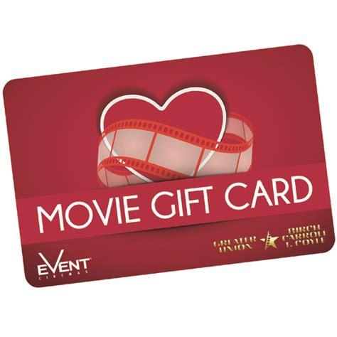 Gift Card Centre - event cinema gift card