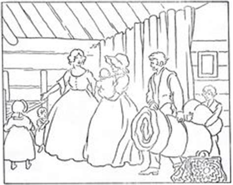 coloring pages little house on the prairie 1000 images about a little house christmas december 4