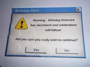 2 card toppers birthday computer message alert ebay inspiration artsy