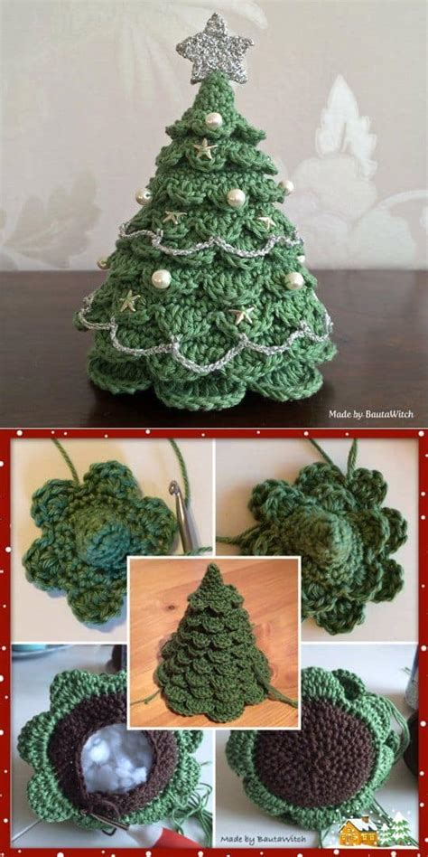 christmas crochet tree pattern all the best ideas the whoot