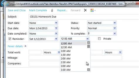 Office 365 Tasks Getting Started With Office 365 Create And Use Tasks