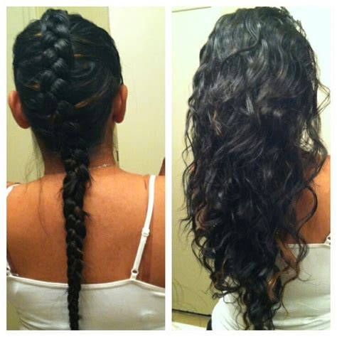 Braided Hairstyles Overnight by Overnight Braids On Overnight Waves Heatless