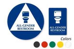 all gender restroom signs transgender restroom signs