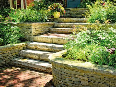 Garten Stufen Anlegen by Mit Treppen G 228 Rten Gestalten Gartengestaltung