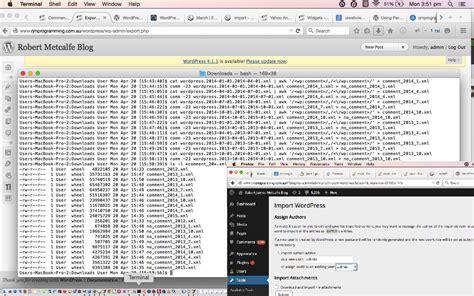 tutorial update wordpress wordpress upgrade crontab curl tutorial robert james