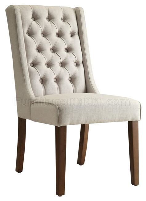 Accent Chair Set Of 2 902502 Accent Chair Set Of 2 In Beige Fabric By Coaster