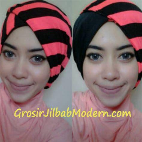 Kerudung Dan Turban Anak Instan turban tissa merah grosir jilbab modern jilbab cantik