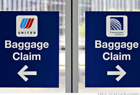 united airline baggage airlines may merge but the troubles stay the same may