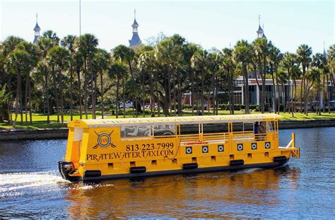 water taxi service  launch  downtown tampa