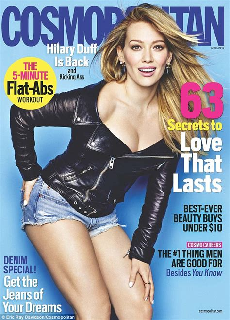 Win Hilary Duffs Cover Look by Hilary Duff Covers Cosmo As She Talks About Mike Comrie