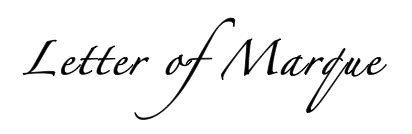 Define Letter Of Marque