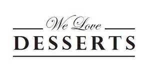 He who chops wood warms himself twice we love dessert logo designs
