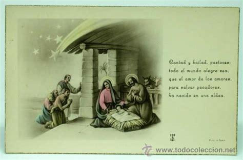imagenes religiosas online postal navidad portal bel 233 n y pastores con poes comprar