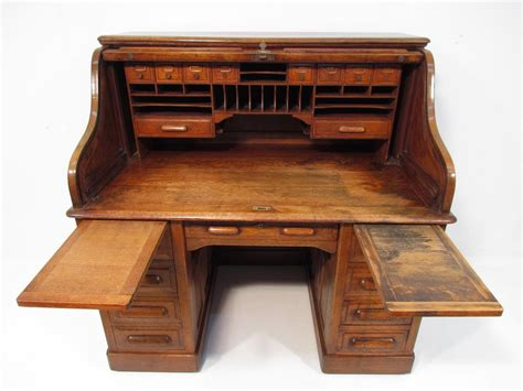 Antique Roll Top Desk Antique Golden Oak Roll Top Desk C 1910 Ebay