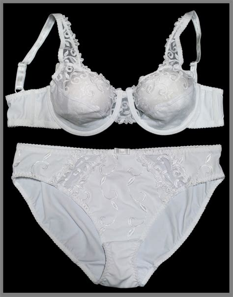 white embroidered semi sheer lace non padded bra