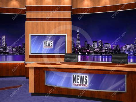 news room backgrounds green screen