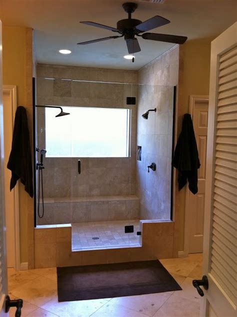 redoing bad ideen master bathroom remodel with shower doppel
