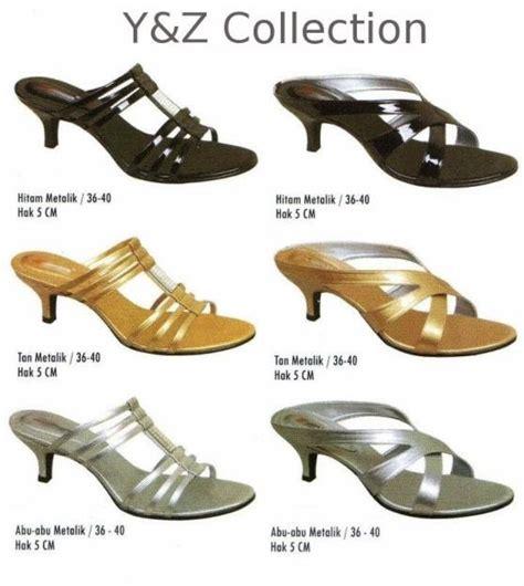 Selop Wedges Tebal d dewi sepatu toko flat shoes