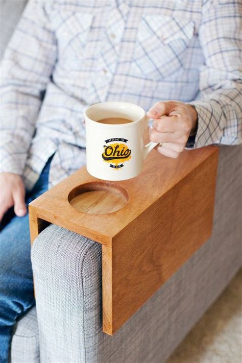 couch cup holder armrest cup holders hacks and sofas on pinterest