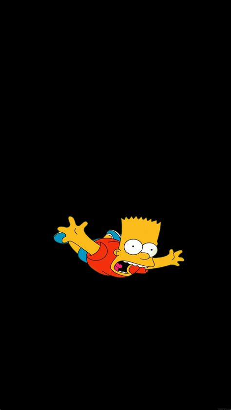wallpaper iphone 6 simpsons papers co iphone wallpaper ag70 bart simpson funny