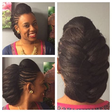 braided pompadour hairstyle pictures rock this protective style for a mix of class and fun