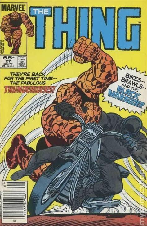 the thing marvel comic book thing 1983 1986 1st series comic books