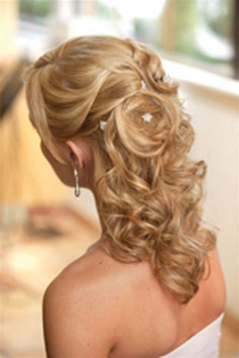 Wedding Hairstyles For Length Hair Half Up by Wedding Hairstyles Half Up Medium Length Hair