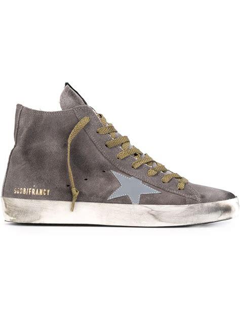 golden goose francy high top sneakers lyst golden goose deluxe brand francy hi top sneakers