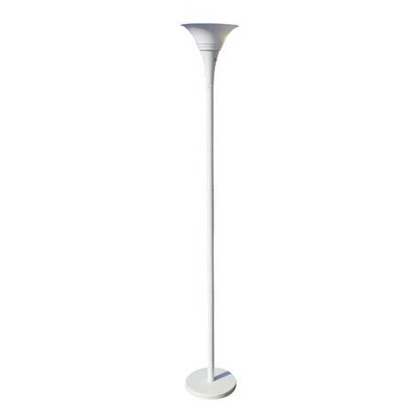 Torchieres Floor Lamps vintage white metal torchiere floor lamp ebay