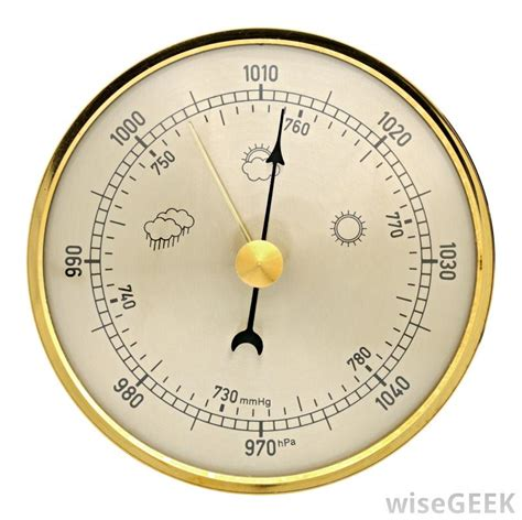 Barometric Pressure How Do I Read A Barometer With Pictures