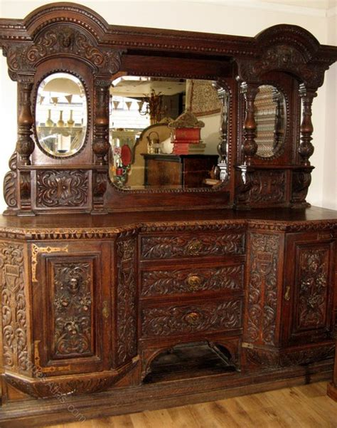 antique buffet cabinet furniture carved sideboard buffet cabinet