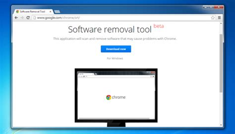 reset tool chrome google launches software removal and browser reset tool