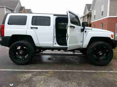 auto air conditioning repair 2007 hummer h3 regenerative braking find used 2007 white hummer h3 custom w 4 quot rancho kit low miles in barboursville west