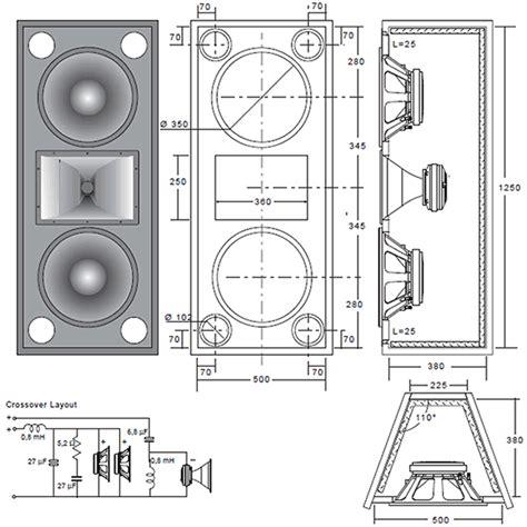 Speaker Designs by Woodwork Cabinet Speaker Plans Pdf Plans