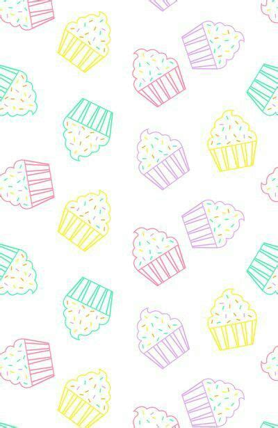 girly cupcake wallpaper kawaii kawaii background cute girly muffins tumblr fancy
