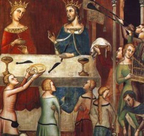 alimentazione medievale alimentazione pieno medioevo x xi sec