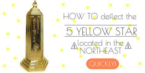 feng shui yellow feng shui 5 yellow