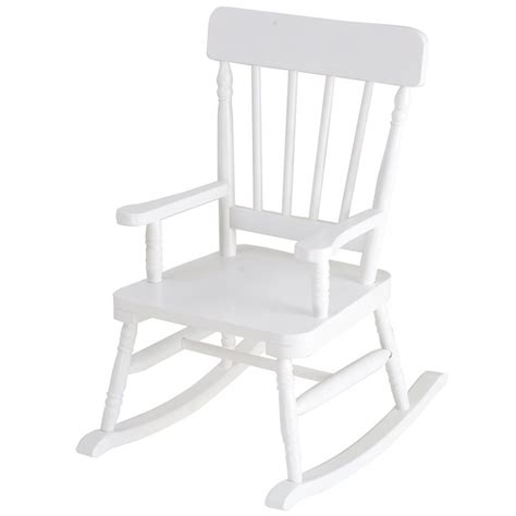 simply classic rocking chair in white by levels of discovery