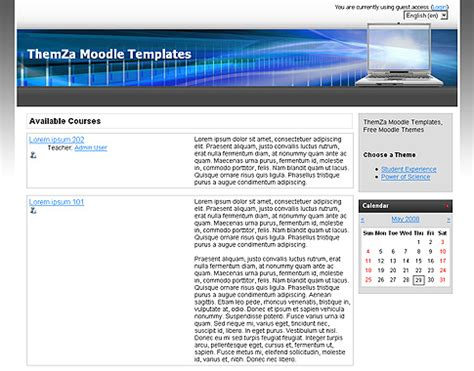 moodle theme selector not working free moodle themes computer world by themza