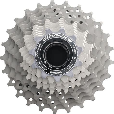 shimano dura ace 11 speed cassette shimano dura ace cs 9000 11 speed cassette 11 25